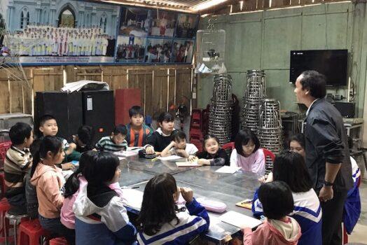 Xin hỗ trợ giáo họ Văn Bàn, Lào Cai